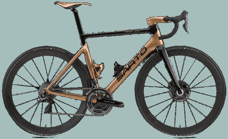 sarto carbon aero road bike with disc